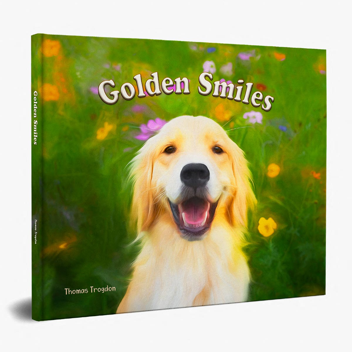 Golden Smiles Book Cover for Featured Image