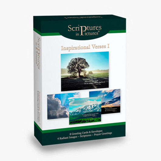 Scriptures in Pictures Inspirational Verses I Greeting Cards