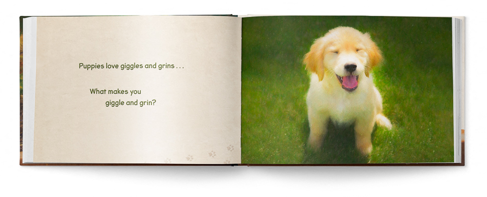 Puppies Love Children's Book featuring Trog's Dogs - Pages 10 and 11