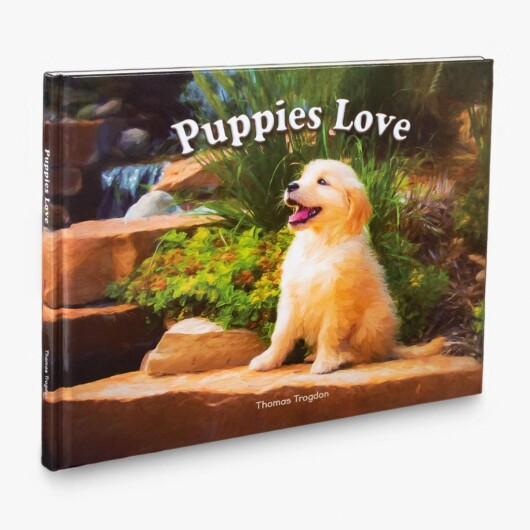 Puppies Love Children's Book Cover - Featured Image