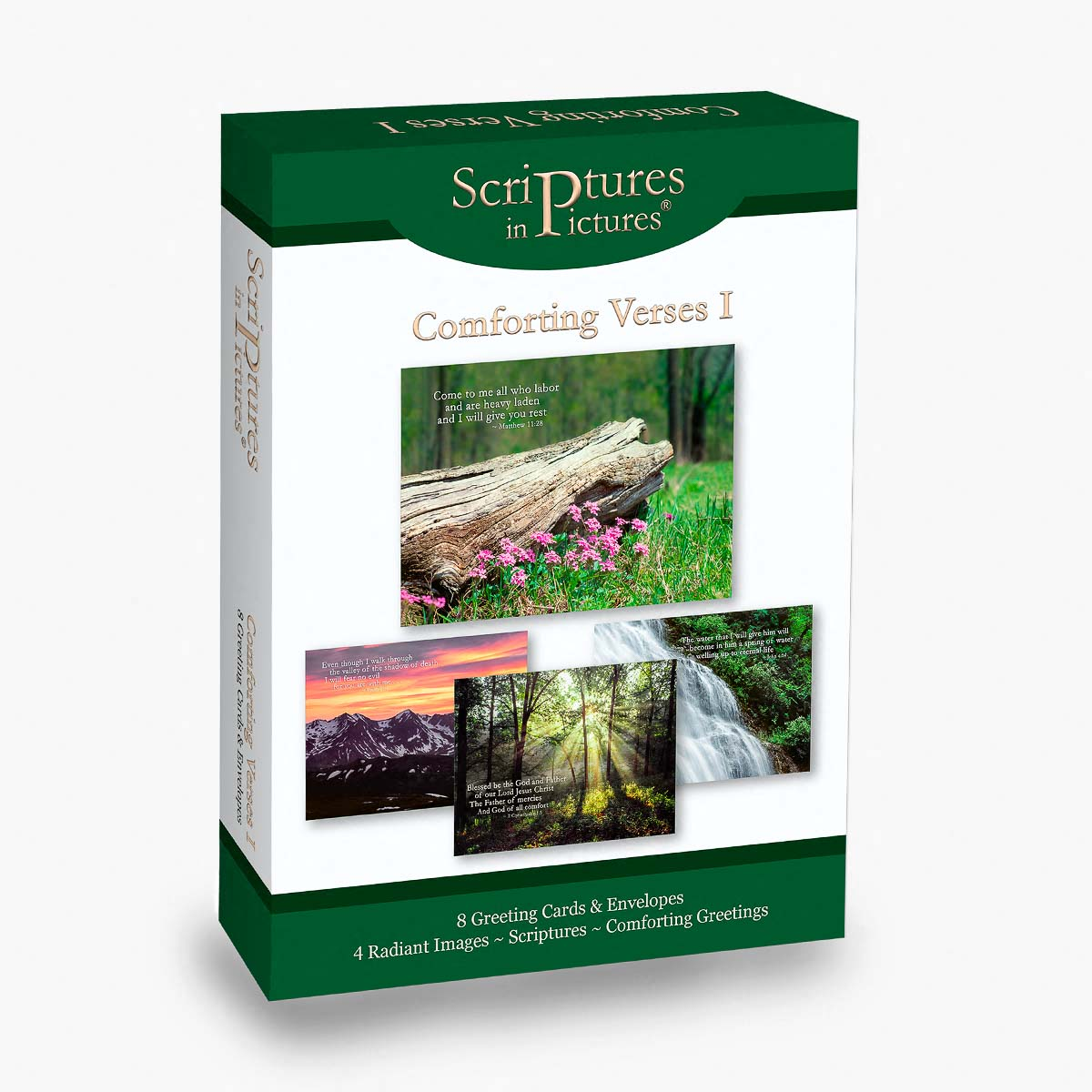 Scriptures in Pictures Comforting Verses I Greeting Cards