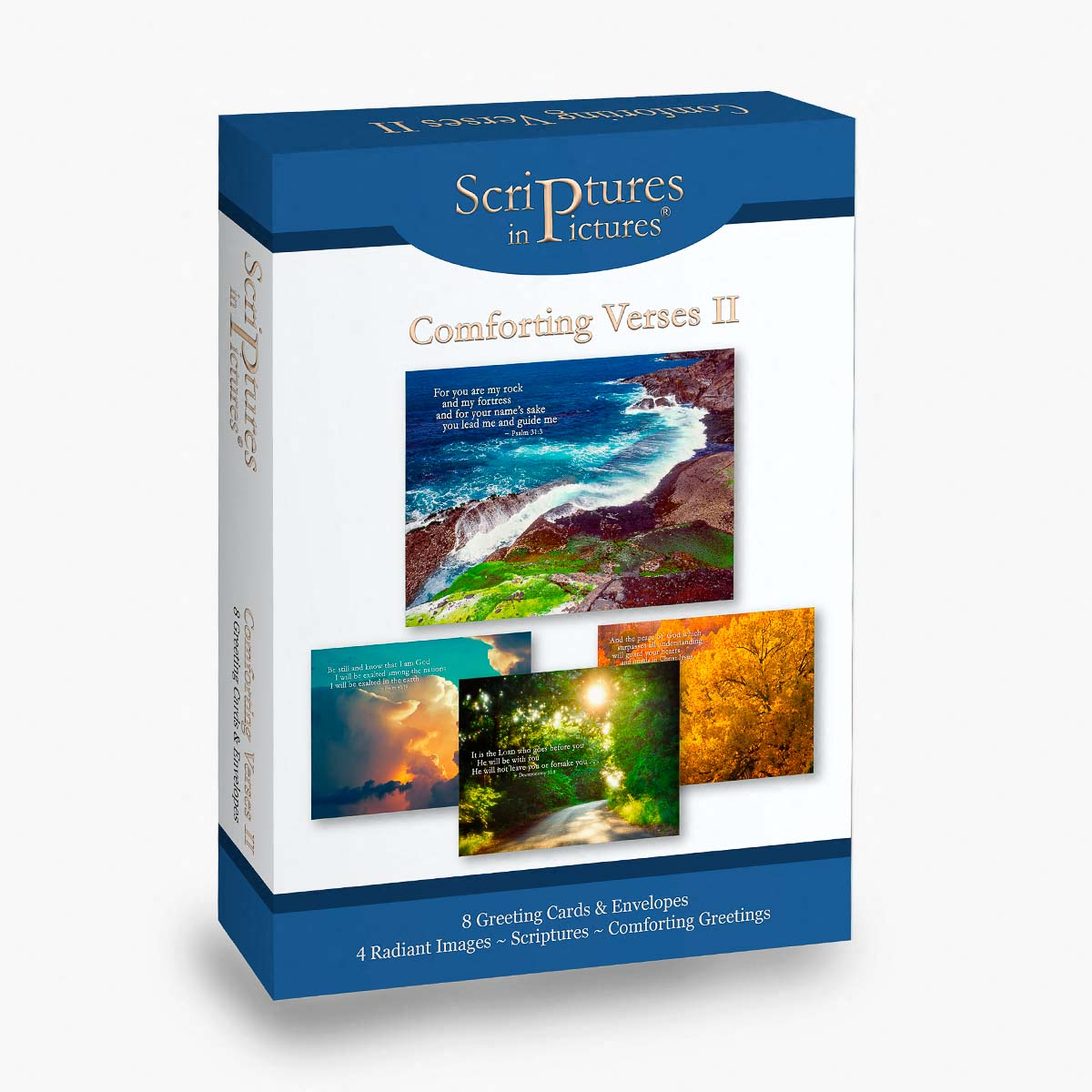 Scriptures in Pictures Comforting Verses II Greeting Cards