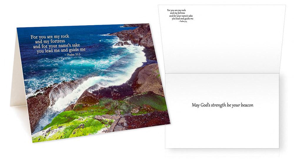 Scriptures in Pictures Comforting Verses II Greeting Card